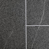 Sample of Grey Granite Tile Groove Bathroom Wall Panels 8mm Shower Cladding - Claddtech