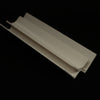 Internal Corner Trim in White Finish for 10mm Cladding Wall Panels 2.4m Long - CladdTech