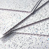 Platinum White Sparkle 5mm PVC Panels For Walls - Claddtech