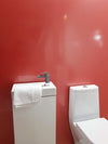 Red Shimmer 10mm Thick Large PVC Shower Panels 2.4m x 1m - Claddtech
