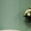 Sample of Forest Green Sheen Linear Decorative Wall Panel - Claddtech