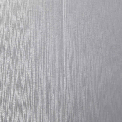 Sample of Dove Grey Sheen Linear Decorative Wall Panel