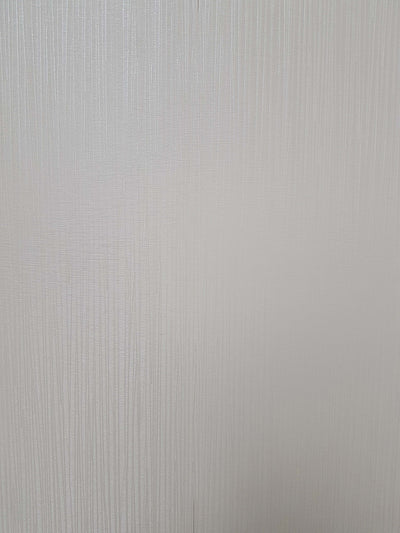 Sample of Ivory Stripe Sheen Linear Decorative Wall Panels
