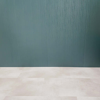 Sample of Teal Green Sheen Luxury Linear Decorative Wall Panels