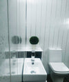 Platinum Sparkle & Chrome 5mm Ceiling Cladding For Bathrooms - Claddtech