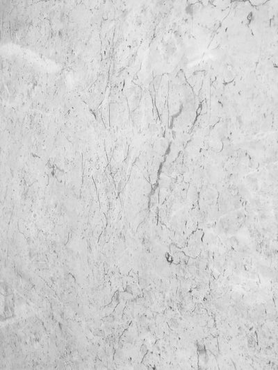 White Alabaster Marble Bathroom Cladding 5mm Shower Wall Panels 2.6m x 0.25m