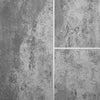 Sample of Silver Mist Tile Groove Bathroom Wall Panels 8mm Shower Cladding - CladdTech