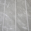 Dark Grey Marble & Chrome 5mm Tongue And Groove Panels - Claddtech