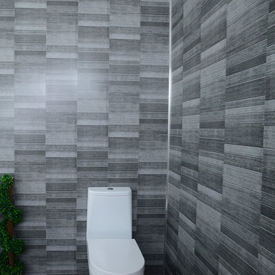 Grey Small Tile Effect 5mm Tongue And Groove Panels