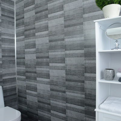 anthracite-small-tile-effect-5mm-wall panels