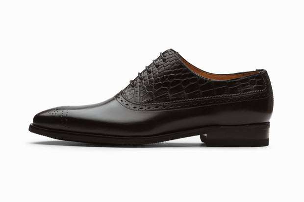 Albert Leather Oxford - Black