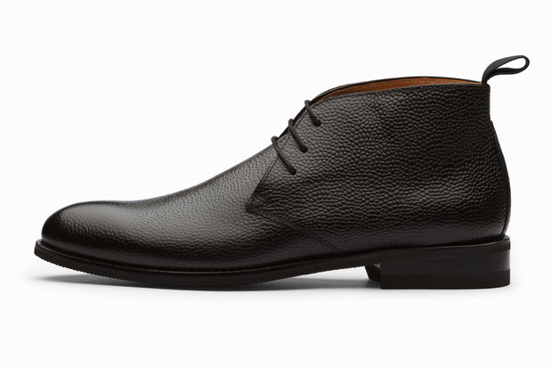 Chukka Boot - Black Grain