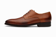 Grain Leather Derby - Cedar