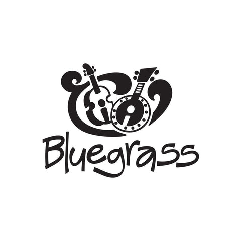 Bluegrass Music Sticker 1