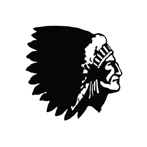 Native American Chief Sticker 1
