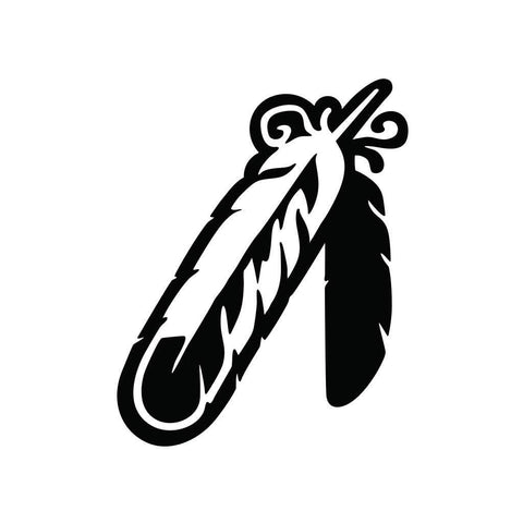 Native American Feather Sticker 1