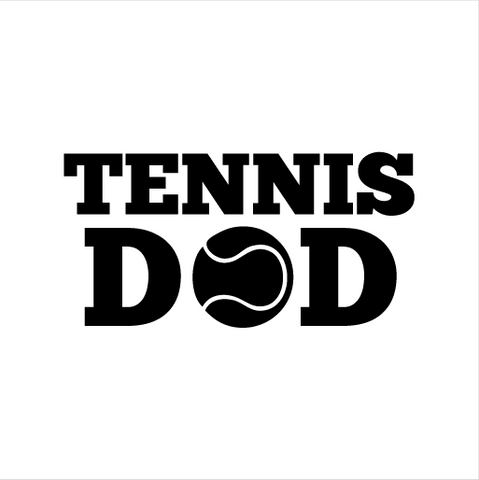 Tennis Dad Sticker
