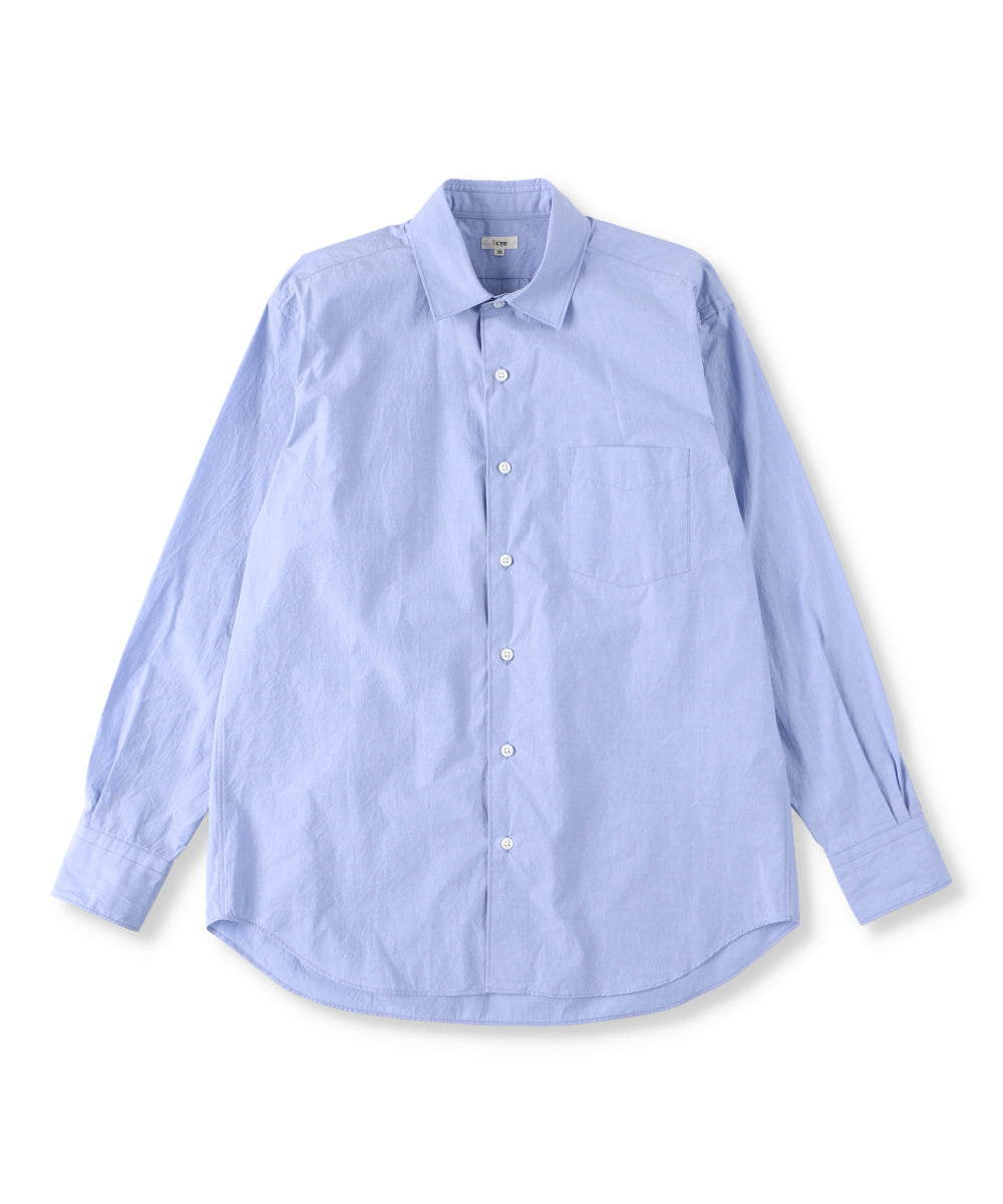 Peru Cotton Poplin Over Shirt(Women)