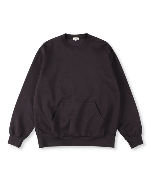 Double Faced Cotton Crewneck Top  (Women)