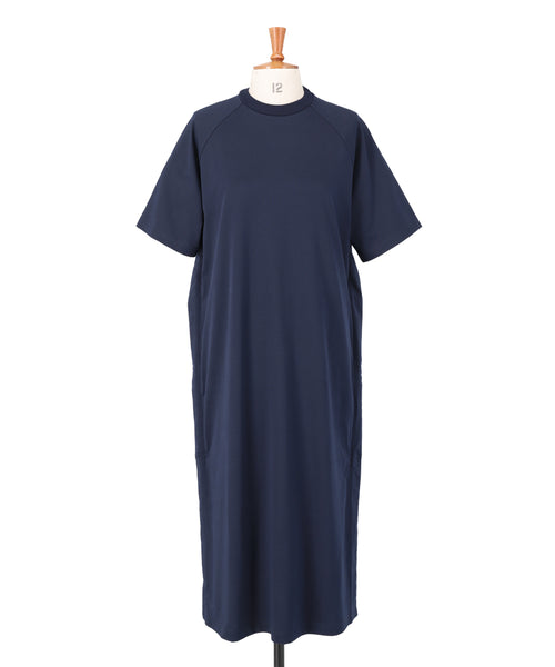 Organic Cotton Jersey Boxy T-Shirt Dress