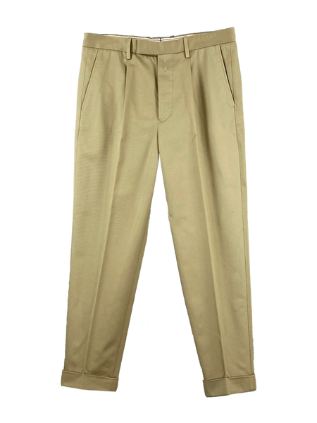 San Joaquin Cotton Chino 1Pleated Trousers Limited (Men)
