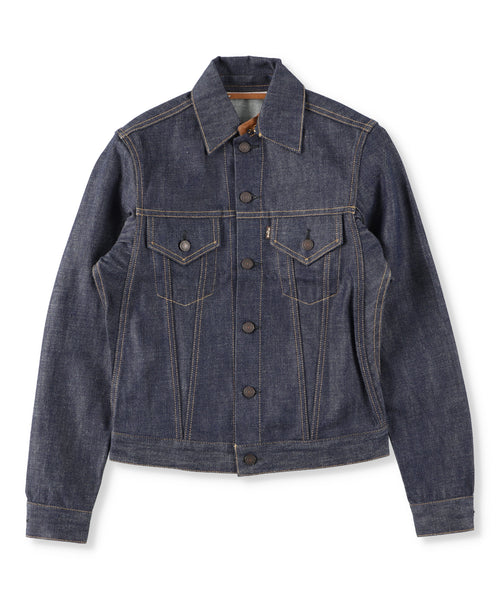 San Joaquin Denim Detachable Collar Jacket  (Women)