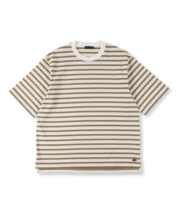 Striped Cotton Jersey T-Shirt (Womens)