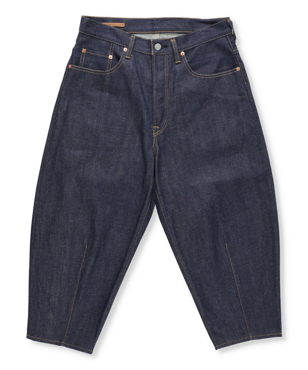 Selvedge Denim Balloon Leg Jeans