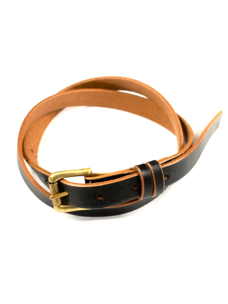 Scye Mercantile Leather Belt