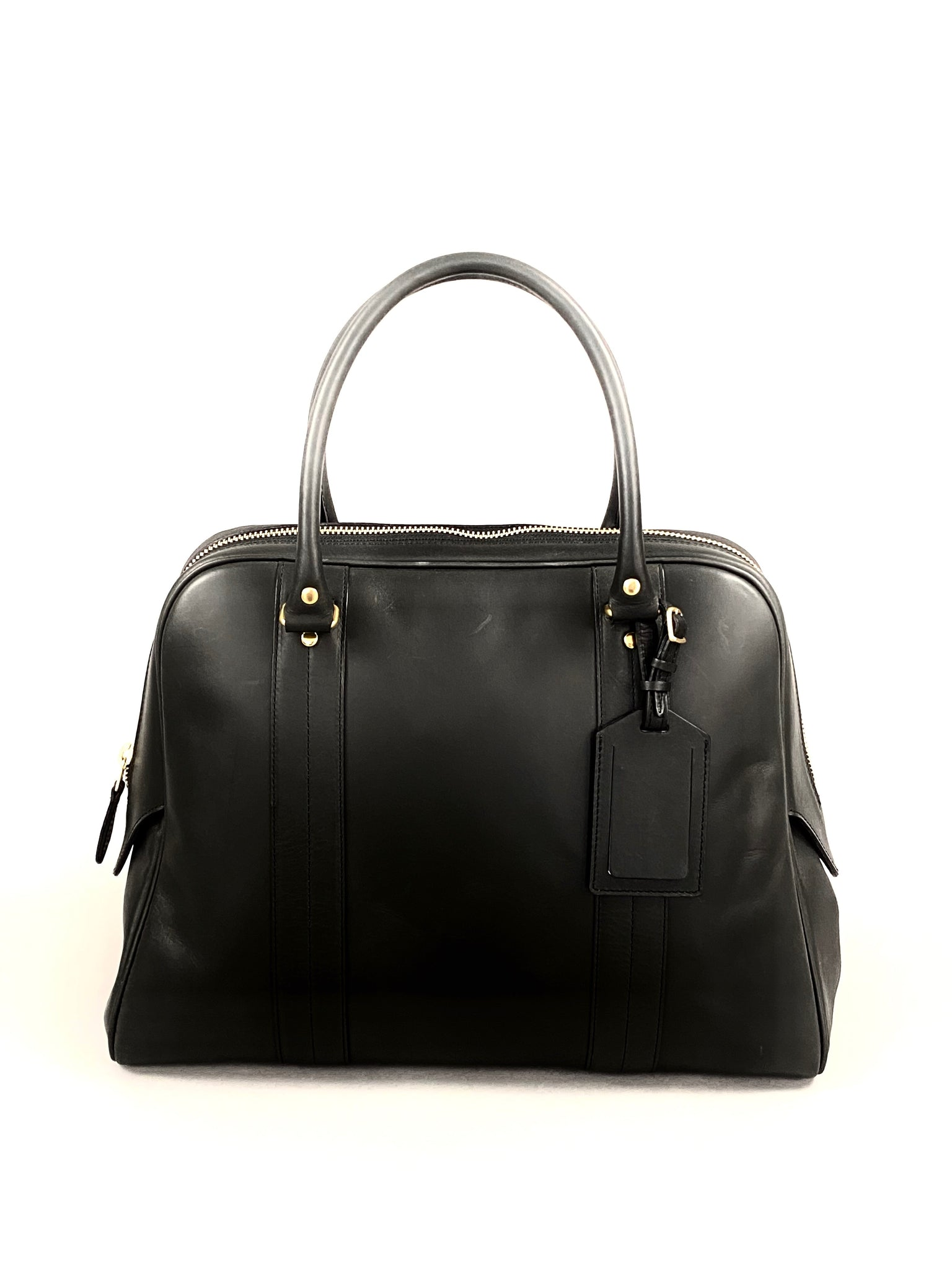 Scye Mercantile Leather Boston Bag M