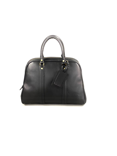 Scye Mercantile Leather Boston Bag S