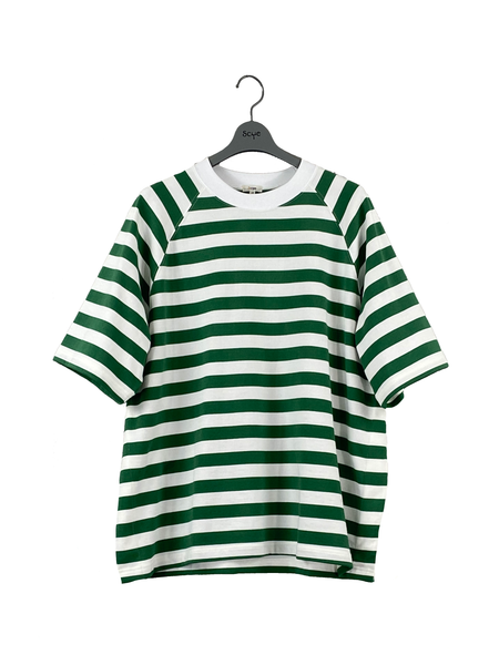 1120-21210 Horizontal  Stripe Raglan T-Shirt (Men)