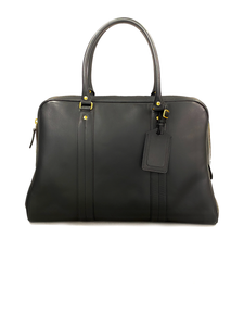 Scye Mercantile Leather Boston Bag L