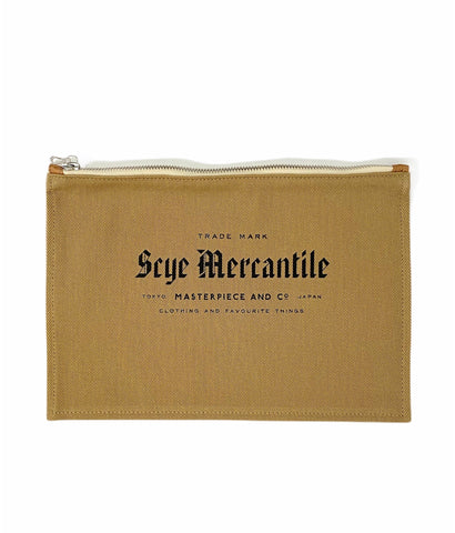Scye Mercantile Cotton Pouch