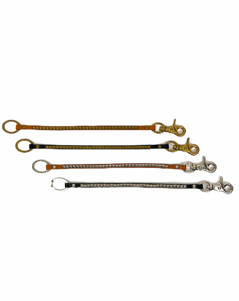 Cow Shoulder British Studs Wallet Chain