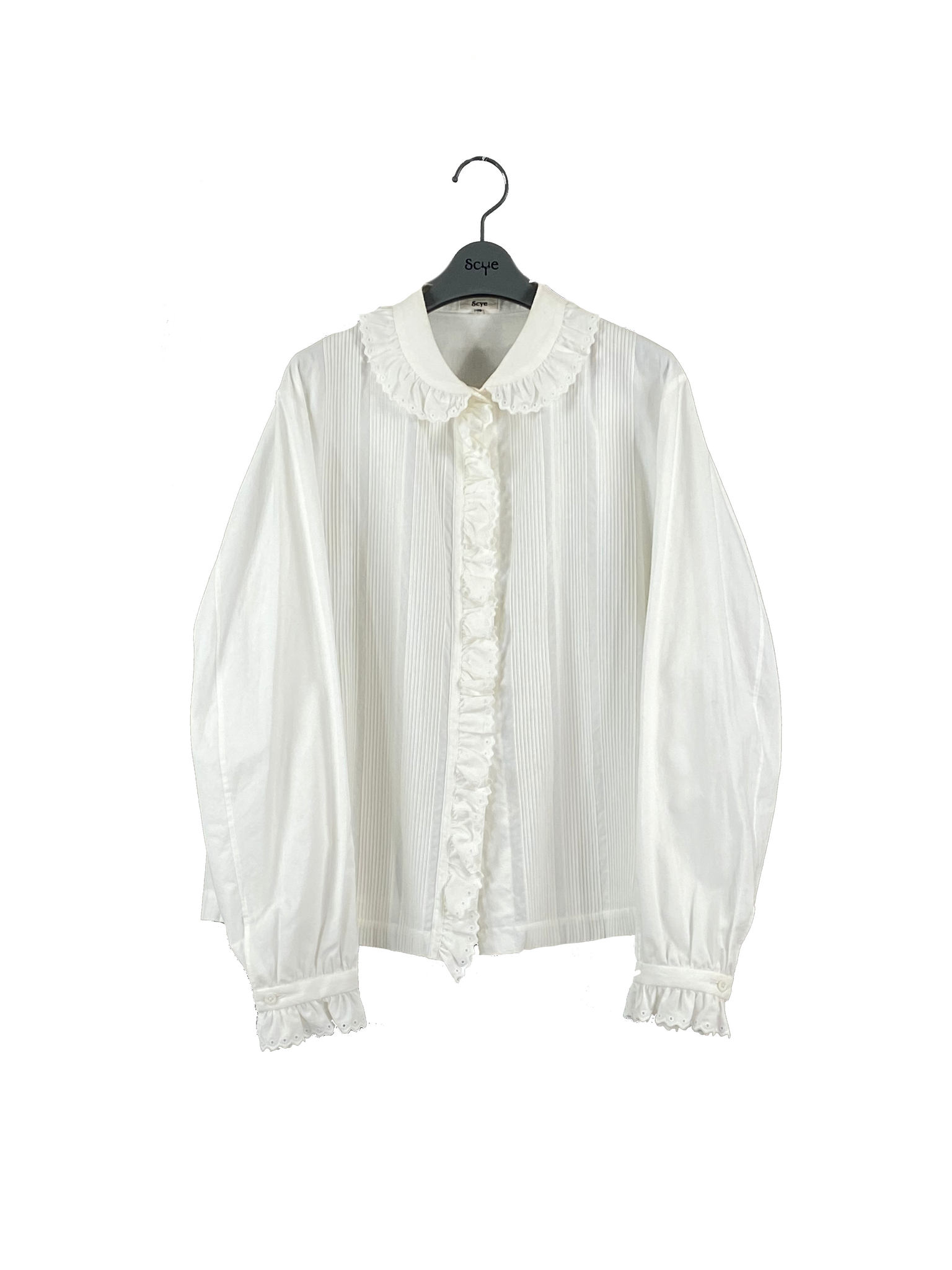 Cotton Cambrick Pintuck Shirt (Women)