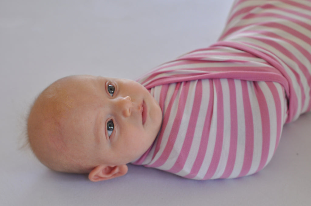 Pink Baby bamboo stretch wrap