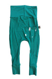 Babies Bamboo Skinnies, Forest Green