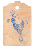 Queenie Bird Cherrywood Gift Tag