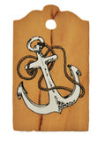 Anchor Cherrywood Gift Tag