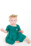 Free Spirit Pirouette Dress, Forest Green