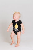 Black Lemon bike Onesie