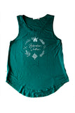 Ladies Tank, Forest Green Wonder Seeker