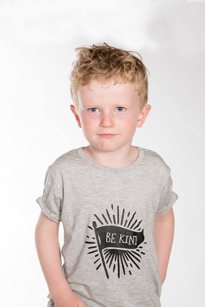 Grey Be Kind Tee