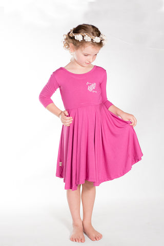 Free Spirit Pirouette Dress, Rose