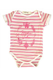 Pink Stripe Wonder Seeker Onesie