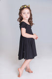 Black Pirouette Dress