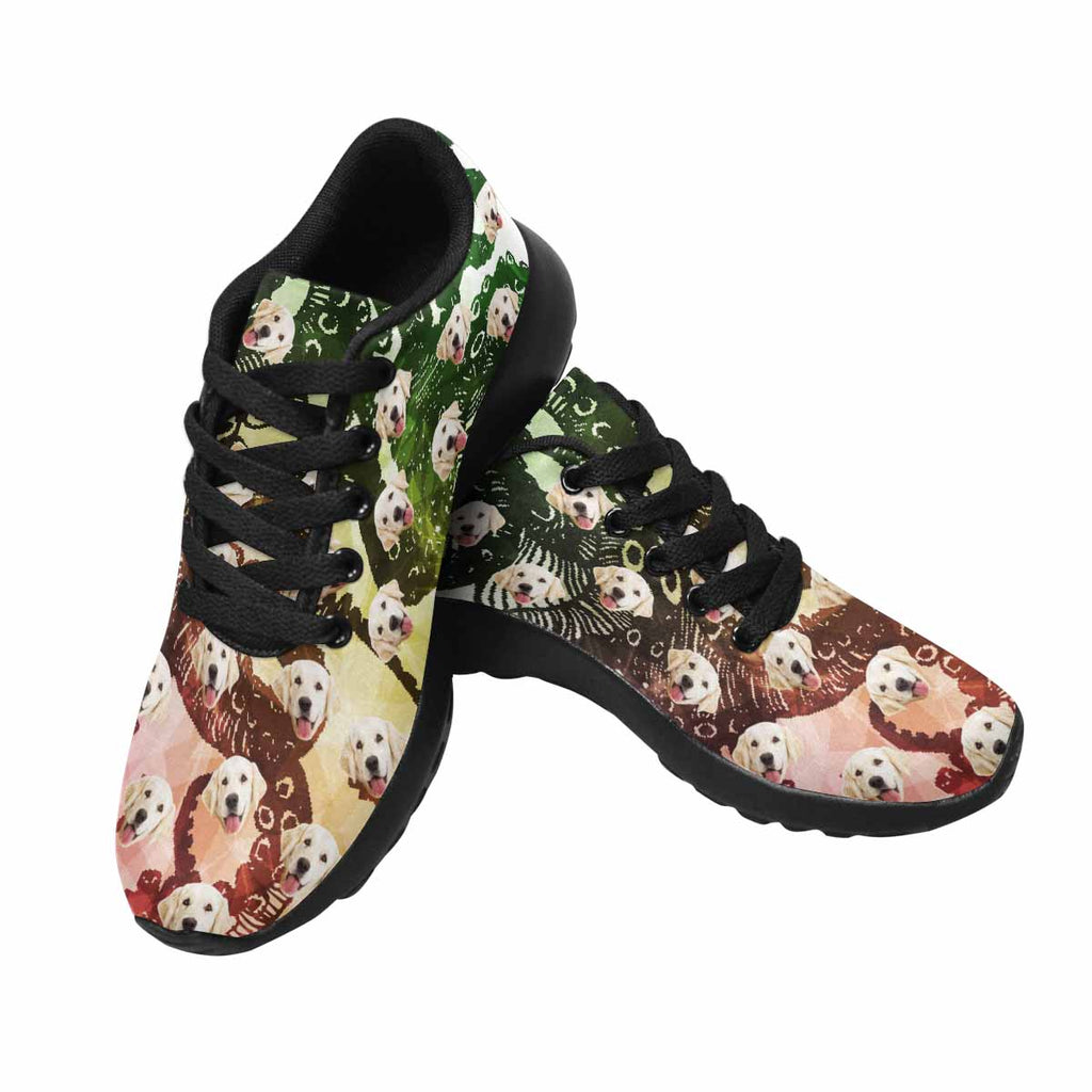 Personalized Picture Octopus Pup Women's Running Shoes