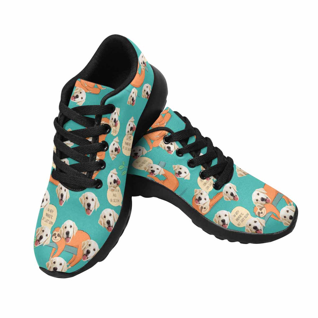 Personalized Picture Cartoon Sloth Dog Women's Running Shoes