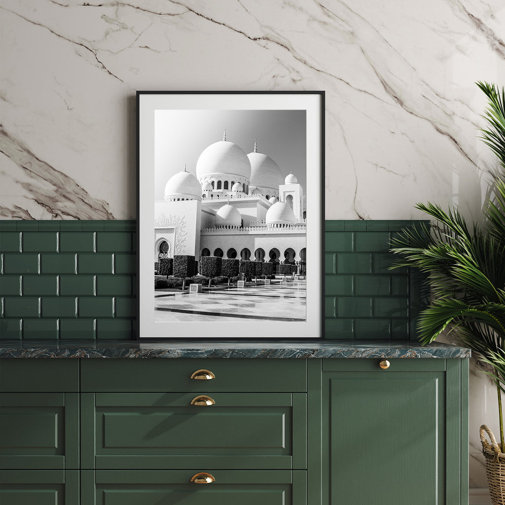 Sheikh Zayed Mosque Print